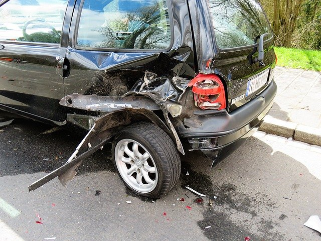 Rear End Auto Accidents in Richland County